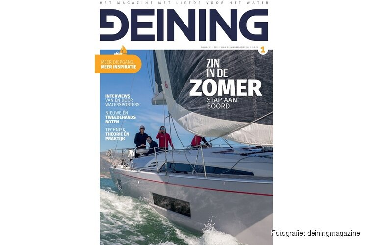 Nieuw Watersportblad Omdenken met Deining Magazine