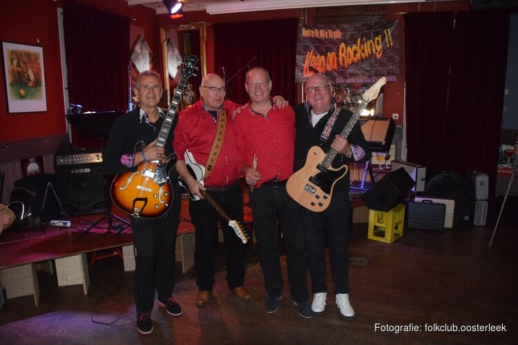 Zondag 7 april back to the sixties middag met KEEP ON ROCKING in Oosterleek