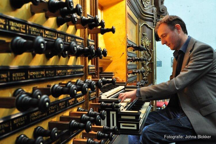 Orgelconcert 18 juli a.s. met Gerwin van der Plaats in NH Kerk Venhuizen