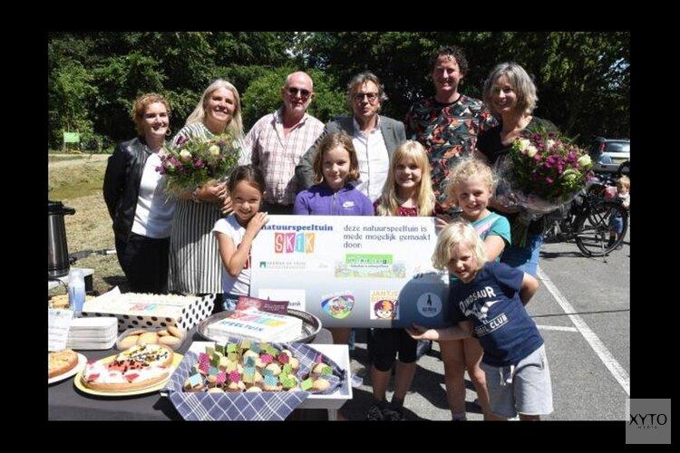 Natuurspeeltuin Skik in Schellinkhout officieel geopend