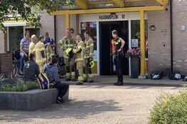 Brandlucht in seniorencomplex Hoogkarspel