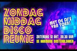 De Grote Zondagmiddag Disco Reünie van de jaren 80