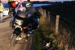 Motorrijder gewond in Oosterleek