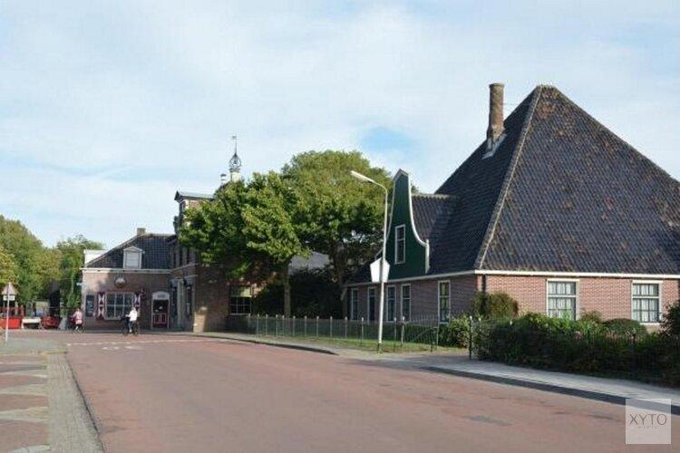 Plan voor woningen bij gemeentehuis Venhuizen