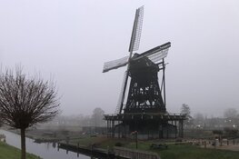 Dit is er nog over van de historische Ceres-molen in Bovenkarspel...