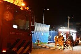 Brand op bedrijventerrein Oosterblokker