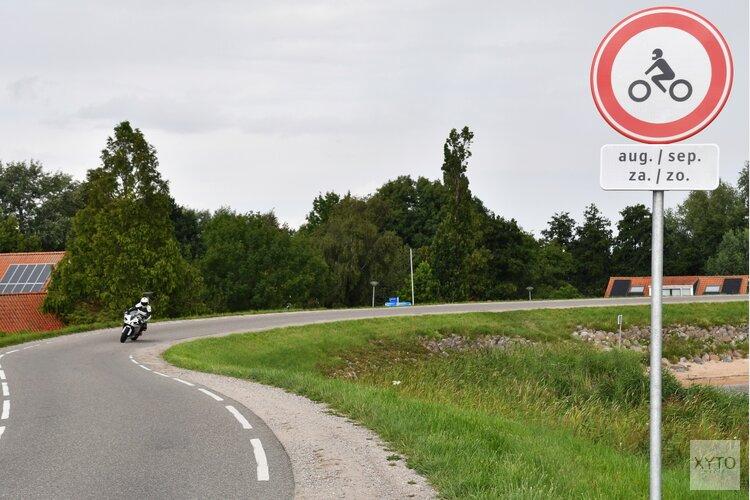 Afsluiting Zuiderdijk voor motoren in de weekenden van augustus en september
