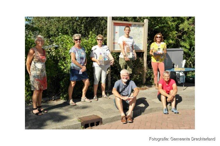 Prijsuitreiking fotopuzzeltocht na opening Groene Reigerroute
