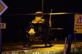 Fietser zwaargewond geraakt in Hoogkarspel, weg uren dicht