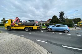 Ongeval op kruising in Blokker