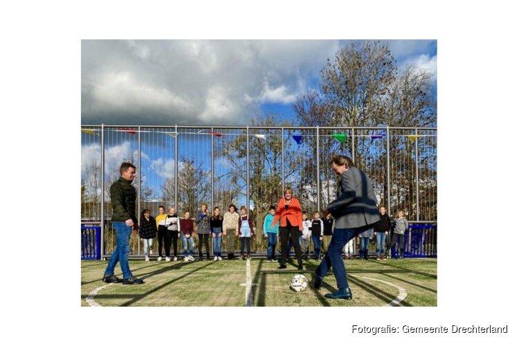 Opening sportkooi Sally in Wijdenes